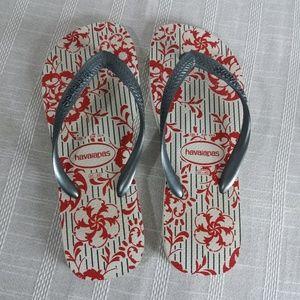 Mens Havaianas Flip Flops Sandals 9 10 41 42